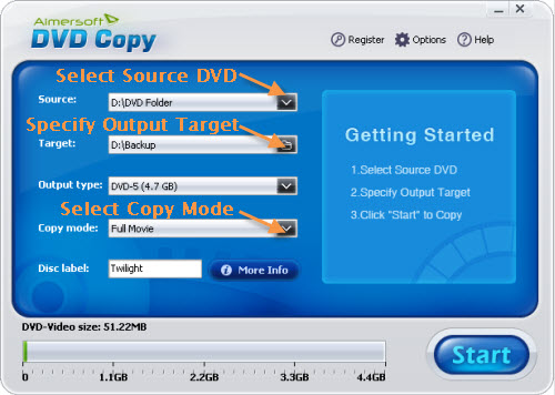 free software to burn copy protected dvd