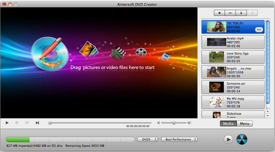 How to Burn MP4 to DVD on Mac via iMovie?